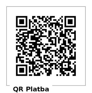 QR platba členství 200 Kč